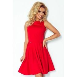 Dámské elegantní šaty červené 982