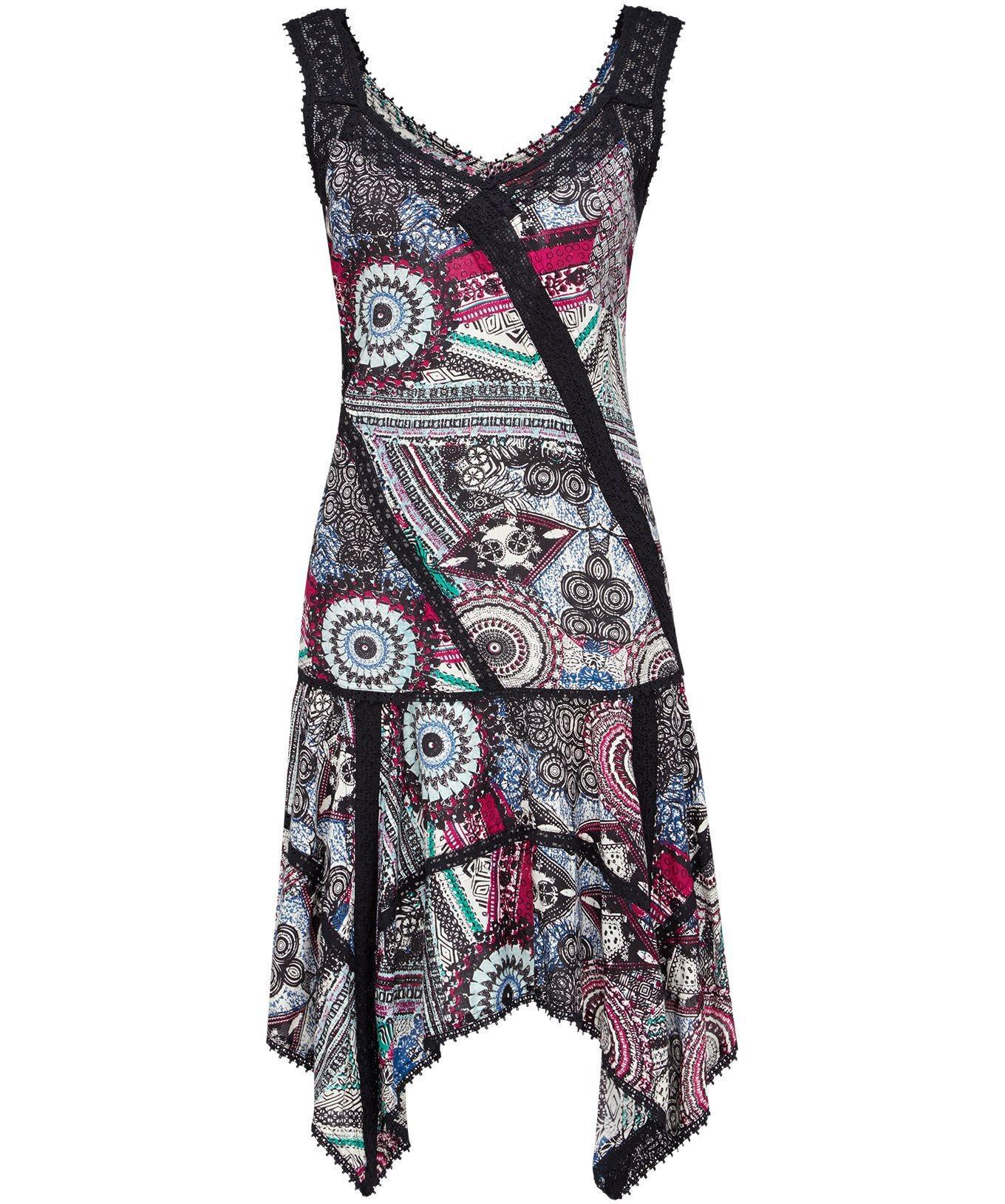 d08f626d381 Luxusní dámské letní vzorované šaty s krajkou - Alltex-fashion.cz