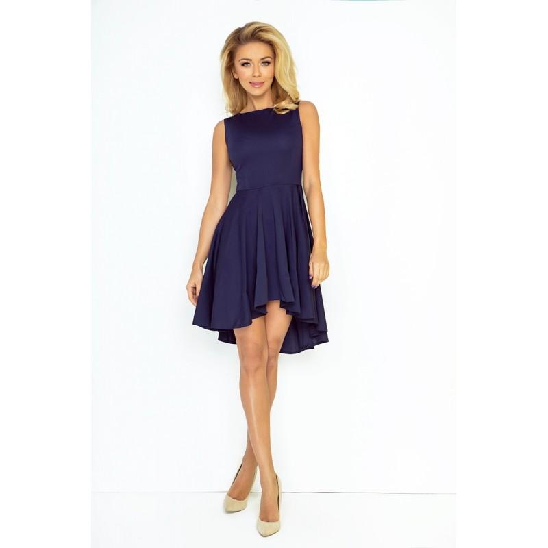 Dámské asymetrické šaty Lacosta - Exclusive tmavě modré - Alltex ... 19a904c9f8