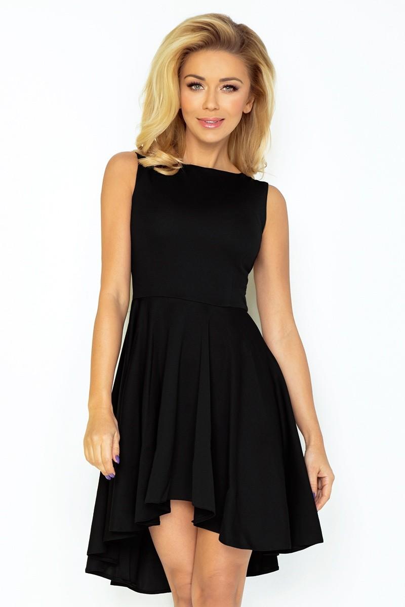 b3ce83bd2efe Dámské asymetrické šaty Lacosta - Exclusive bez rukávu černé