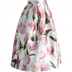 Sukně Chicwish Tulip A-line
