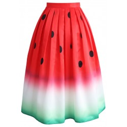 Sukně Chicwish Watermelon