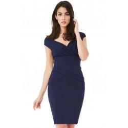 Dámské šaty CityGoddess Amy tmavě modré