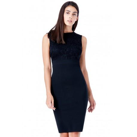 Dámské šaty bez rukávu Olivia černé