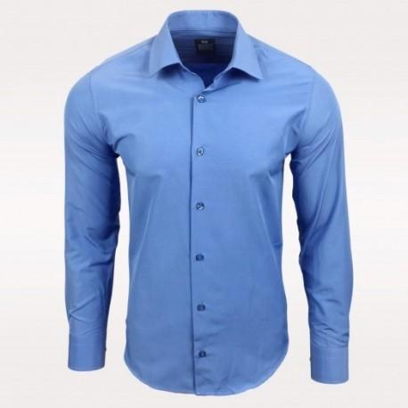 Pánská košile s dlouhým rukávem Rusty Neal modrá