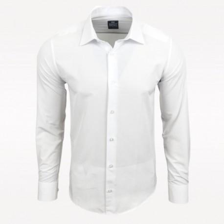 c04307cac71 Pánská košile s dlouhým rukávem Rusty Neal bílá - Alltex-fashion.cz