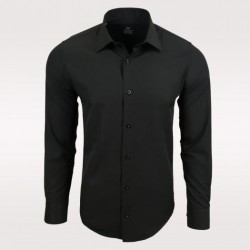 Pánská košile s dlouhým rukávem Rusty Neal černá