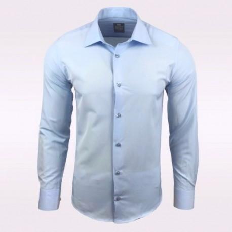 Pánská košile s dlouhým rukávem Rusty Neal světle modrá - Alltex ... df2539b6d2