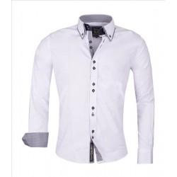 Pánská košile s dlouhým rukávem Carisma bílá