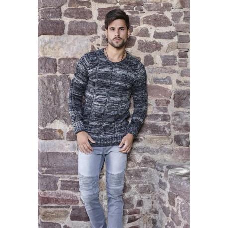 Pánský svetr s kapucí CRSM