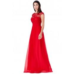 Plesové a společenské šaty Luren červené