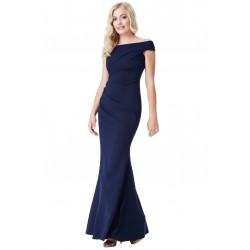 Plesové a společenské šaty Erin tmavě modré