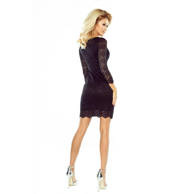Krajkové šaty Tina černé - Alltex-fashion.cz 605650bbd9