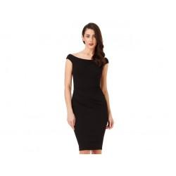 Dámské pouzdrové šaty Robyn černé