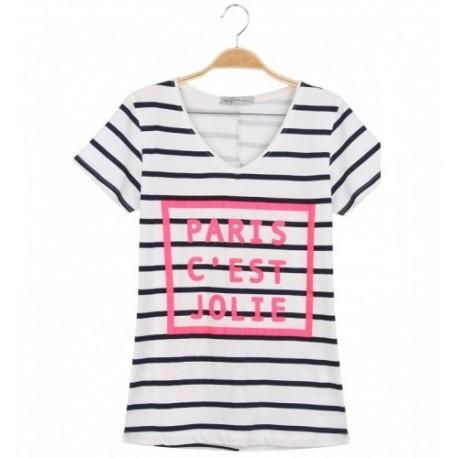 Dámské módní trendy tričko PARIS