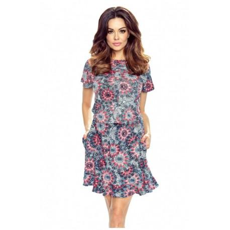 Trendy dámské šaty se vzorem