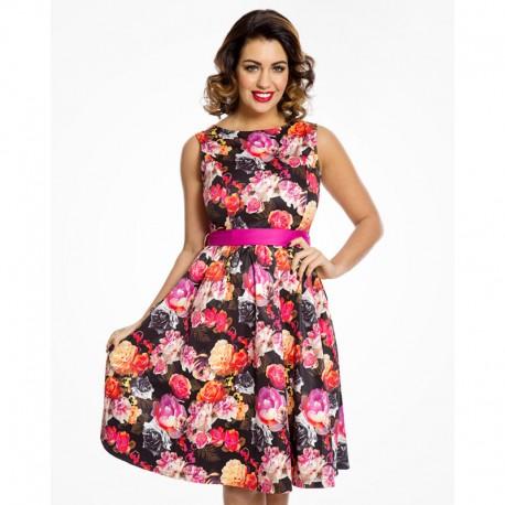 Dámské šaty Lindy Bop Audrey Vibrant Floral
