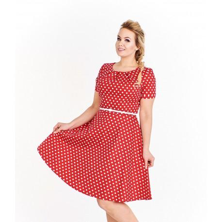 Dámské šaty Mollie červené