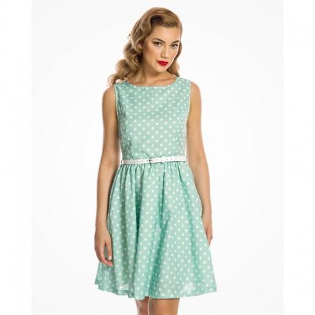 Dámské šaty Lindy Bop Audrina mint e2106ca571