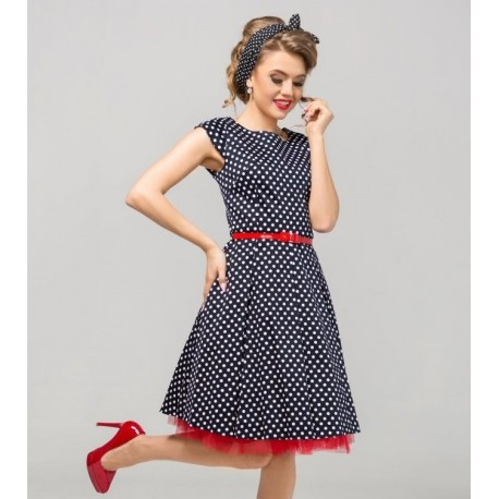 Šaty Erica s puntíky