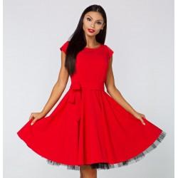 Šaty Laura červené