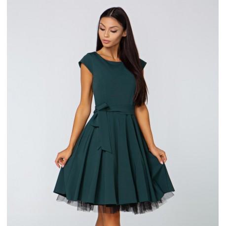 Šaty Valentina smaragdové