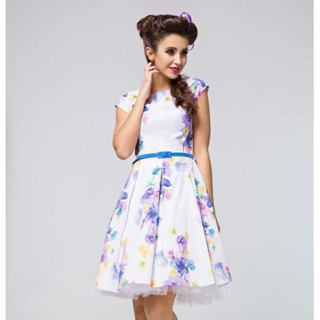 Dámské šaty s květy MICHELE