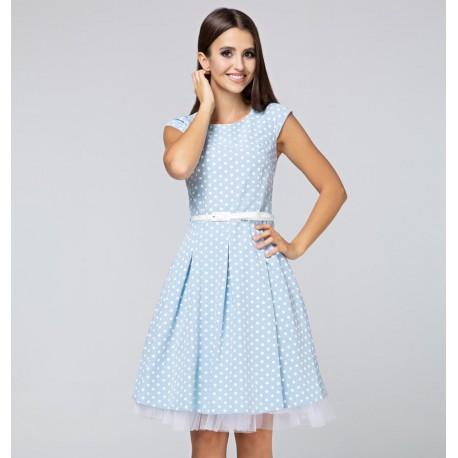 Šaty ANDREE s puntíky
