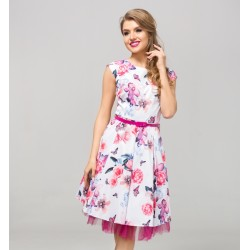 Dámské šaty CATHERINE květy