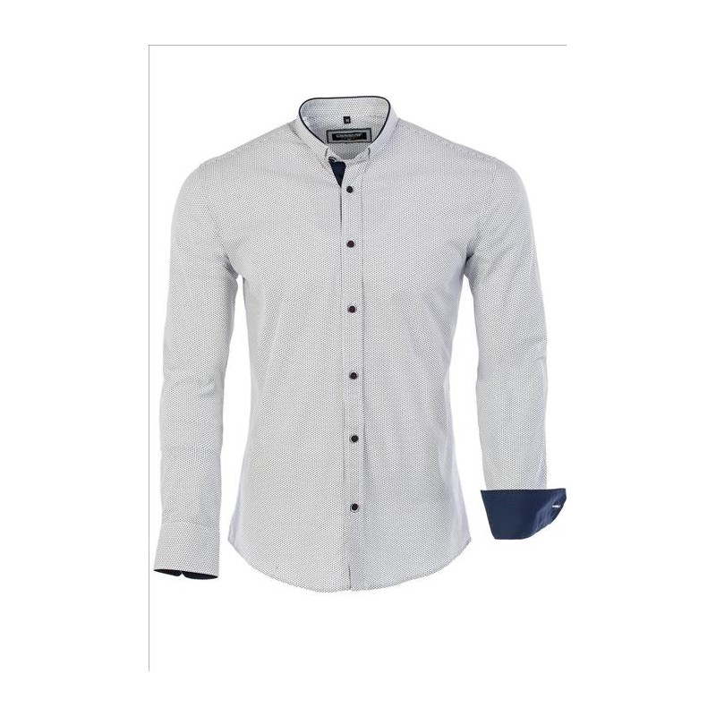 Pánská košile Carisma se vzorem - Alltex-fashion.cz 8173e31821