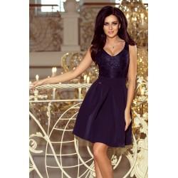 Dámské elegantní šaty s krajkou