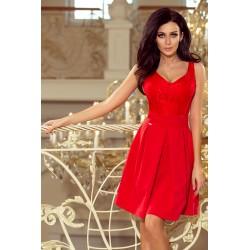Dámské elegantní šaty Red romantic