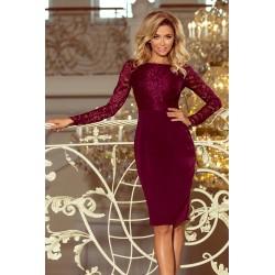Dámské šaty Elegant Burgundy