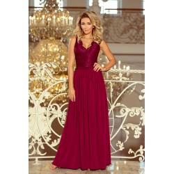 Dámské šaty Angelika vínové