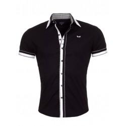 Pánská košile CRSM černá s bílou