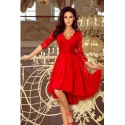 Luxusní dámské šaty Elegance Red