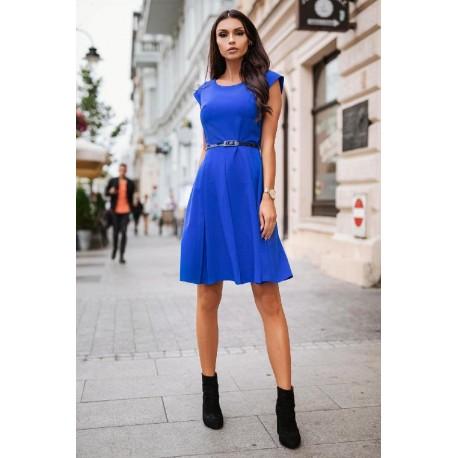 Retro šaty CECILE modré