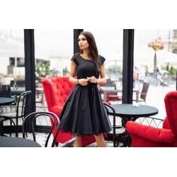 Šaty MARGUERITE černé
