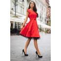Šaty Silvia červené