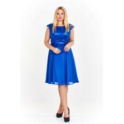 Dámské společenské šaty FEDERICA modré