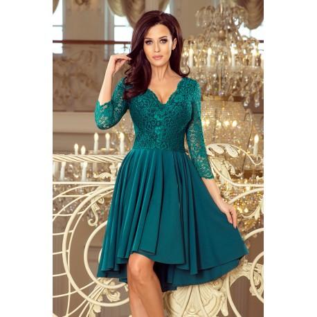 Luxusní dámské šaty Elegance zelené