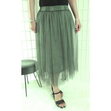 Tylová sukně – maxi 5682