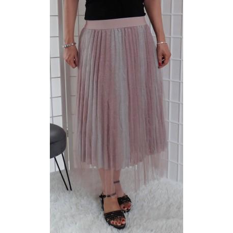 Barevná tylová sukně