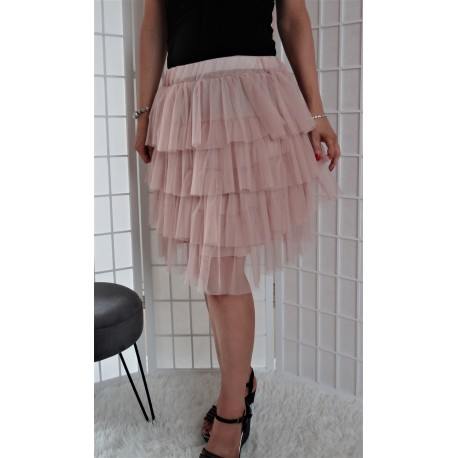 Krátká tylová sukně – mini 1447