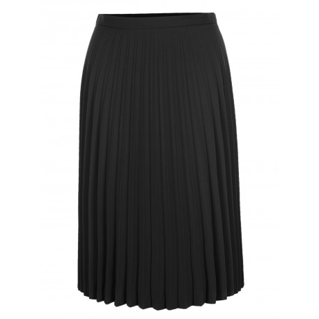 Plisovaná sukně – černá 6989