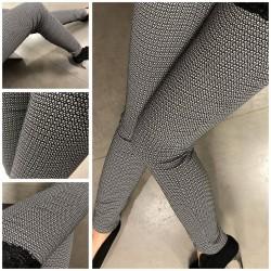 Vzorované úzké kalhoty