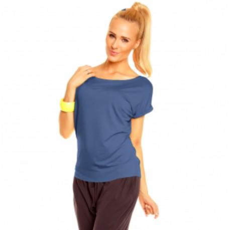 Dámské triko Nina tm. modré