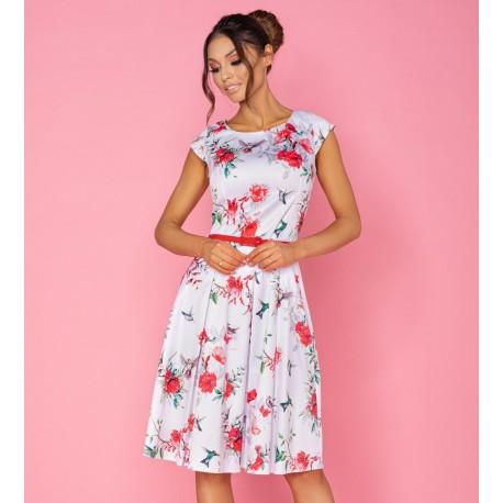 Dámské šaty Gotta Flowers II. prodloužené