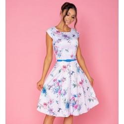Dámské šaty Gotta Flowers prodloužené