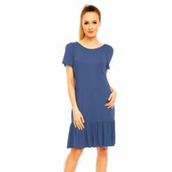 Šaty Fibi v modré džínové